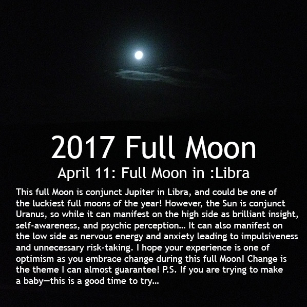 Full Moon April