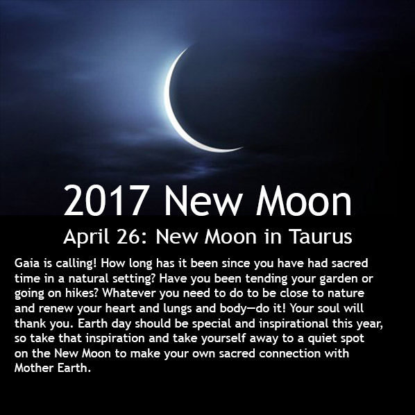 New Moon April
