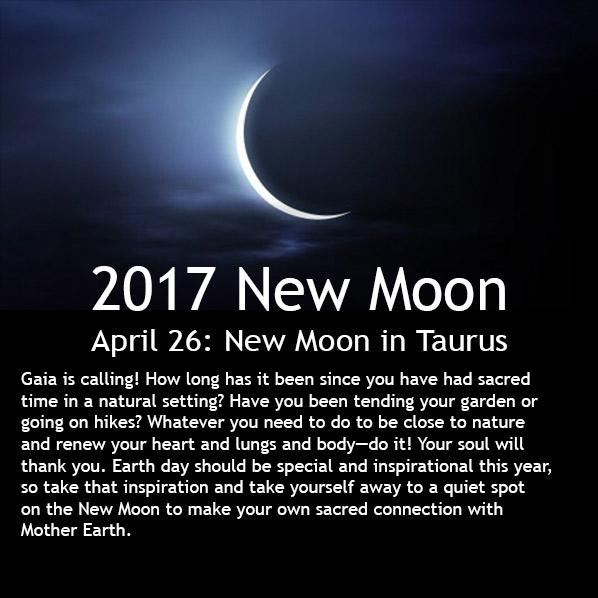 New Moon April