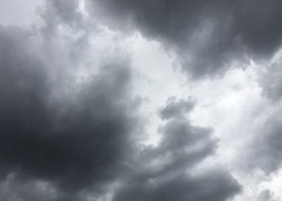 August Stormy Sky