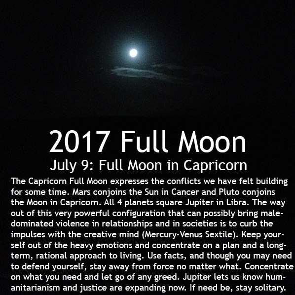 Full Moon July