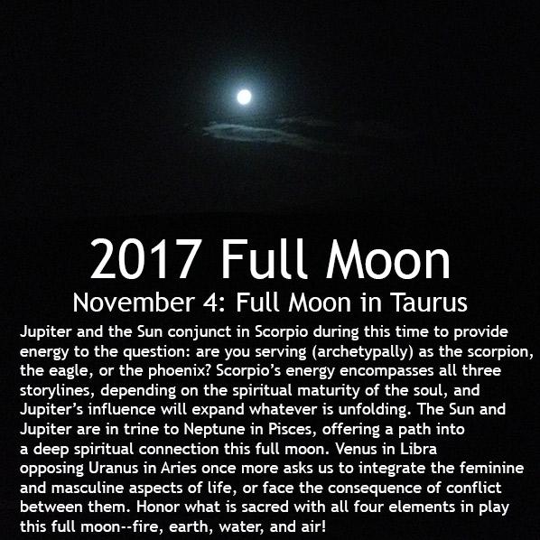 Full Moon November